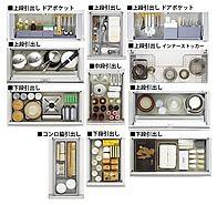 キッチンの収納 フロアキャビネットの種類と特徴 リフォーム大辞典 Lixilリフォームネット キッチン 収納 引き出し 食器 収納 引き出し インテリア 収納