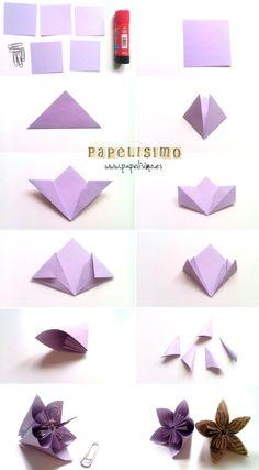 Cómo hacer originales flores de papel para decorar el hogar