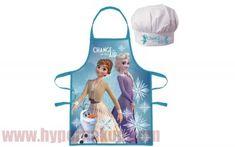 Detská pracovná zástera a kuchárska čiapka Disney Frozen Baking Party, Baking Set, Baking With Kids, Painting Apron, Girl Cooking, Little Chef, Disney Frozen 2, Just Because Gifts, Kids Apron