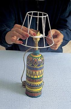 Каркас для абажура для торшера своими руками