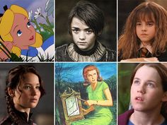 Which Literary Heroine Are You Most Like?  | PlayBuzz I got Hermoine!  I totally wasn't expecting that.
