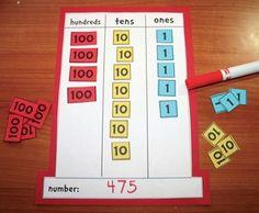 Seuss activities: FREE Cat Hat Place Value Mat Activity. Laminate the hats & number tiles. Students take turns calling out a . Place Value Activities, Dr Seuss Activities, Math Place Value, Place Values, Fun Activities, Grammar Activities, Classroom Freebies, Math Classroom, Kindergarten Math
