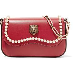 Gucci Broadway mini embellished leather shoulder bag
