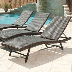 Member S Mark Agio Heritage Chaise Lounge 2 Pack