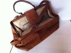 $180 vintage leather bag, hand-crafted, made in Florence, Italy  contact me for more information: chiara.bettoni@gmail.com