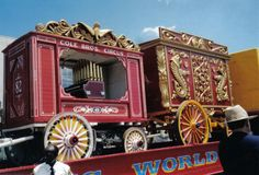 Pin On Circus Wagons