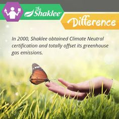 From 2000 to 2012, Shaklee reduced its U.S GHG emissions by 34%. Some of those reductions were achieved through consolidating our distribution and maximizing distribution efficiencies. Others were a result of targeted efforts to conserve water, gas and electricity in company-controlled facilities. Shaklee plans to continue to offset 100% of its greenhouse gas emissions while simultaneously working toward an additional 10% utilization reduction.