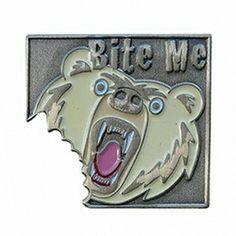 Whitebear - Bite Me, antique silver