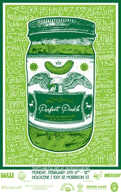 Tomorrows fundraiser for Dill Pickle Club. Pickle Baby will be there.