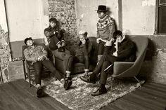 Big Bang (빅뱅) - LINE Deco exclusive BIGBANG Welcoming Collection 2015 Wallpaper.