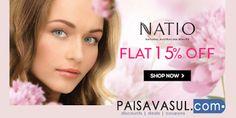 Paisa Vasul - Google Buy Online NATIO Brand Cosmetics , Perfumes ,Skin &Hair Products at Purplle   at PaisaVasul.com check : www.paisavasul.com   #deals #discounts #coupons #couponcode #paisavasul #ecommerce #onlineshopping #offers #india #free #hairproducts #perfumes #cosmetics #skinproducts #natio #purplle #promocodes #everyrupeecounts