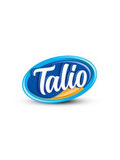 Talio Logo design by Brandz Typo Logo Design, Food Logo Design, Logo Food, Typography Logo, Logo Desing, 3d Logo, Packaging Design Inspiration, Logo Inspiration, Food Company Logo