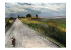 The Road Home  Signed Print From Original Watercolor by bouldnart