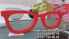 strafor gözlük maketi