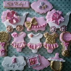 Hey, I found this really awesome Etsy listing at https://www.etsy.com/listing/237084421/glam-baby-girl-sugar-cookies