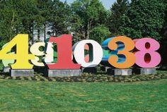 Robert Indiana Sculpture   Robert Indiana numeric sculpture   Flickr - Photo Sharing!