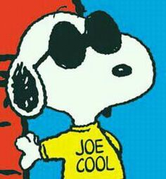 Snoopy the cool