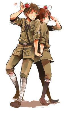 Hetalia Spamano~! :). OMG this is a real thing