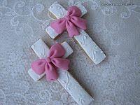 Pretty Communion Cookies
