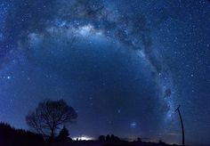 Milky Way Photo by Daniel Burgin -- National Geographic Your Shot