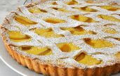 Cooking with Manuela: Pears and Ricotta Tart Tart Recipes, Dessert Recipes, Dessert Ideas, Ricotta Tart Recipe, Pear Tart, Pie Crumble, Dinner Party Recipes, Sweet Pie, Fruit Tart