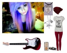 """""""The Guitarist"""" by black-veil-queen ❤ liked on Polyvore"""
