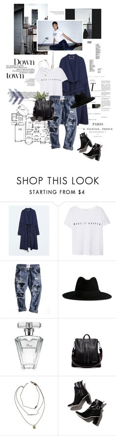 """""""Make it happen."""" by sarahstardom ❤ liked on Polyvore featuring Zara, MANGO, Pacifica, Yves Saint Laurent, INC International Concepts, Avon, Brandy Melville and Christian Dior"""