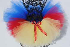 Snow White inspired Tutu by One Charming Boutique, too cute!