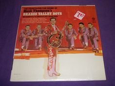 "Hank Thompson & Brazos Valley Boys - W1679 Rare 12"" Vinyl LP Record"
