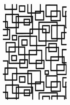Retro Squares Background Clear Stamp Clay PMC by tonjastreasures, $7.99