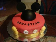 Mickey mouse cake from candy's cupcakes