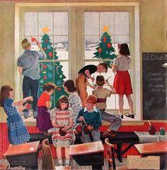 Classroom Christmas/ John Falter