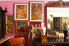 A colored Space This New Year we find out what celebrated columnist, luxury brand consultant, interior architect Nisha Jamwal's home looks like. Like herself and the designs she is best known for, this award winning designer's home is lively with a touch of the whimsical. Here is the lady herself on her design philosophy..
