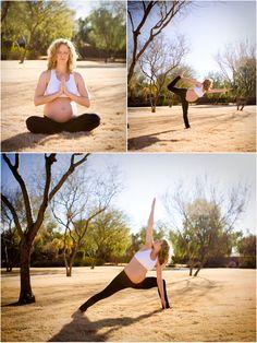 more maternity yoga - gorgeous!