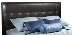 Create Magnificent Bedroom With Inspiring King Headboards Full Headboard, Queen Headboard, Leather Headboard, Adjustable Legs, Metal Beds, Bed Frame, Bedroom Furniture, Furniture Ideas, Bed Pillows