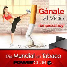 Hoy más que nunca cuidamos nuestra salud @powerclubpanama celebra el día Mundial sin Tabaco  #YoEntrenoEnPowerClub