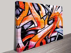 Photo of Abstract Graffiti Wall Art