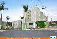 Paisagismo do Castellon. Condomínio fechado de apartamentos localizado em Campinas / SP.