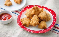 Chicken nuggets with smoked paprika and anchovy mayo recipe bbc food recipes chicken nuggets with smoked paprika and anchovy mayo christmas chicken nuggets forumfinder Images