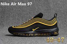 new arrival a50e5 f1db8 Nike 97 KPU MAX 97 KPU New Men Black Gold 40-47
