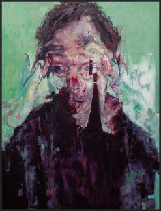 Prosopagnosia.80cm x 60cm.Oil on Canvas. 2012. Milo Hartnoll milohartnoll@yahoo.co.uk