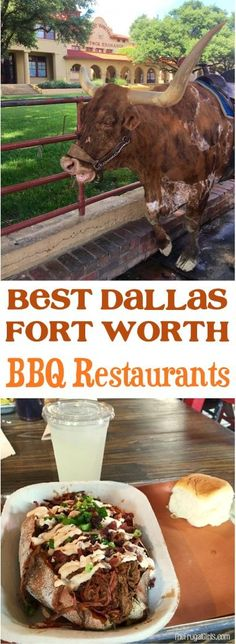 Best Dallas Fort Worth Barbecue Restaurants! ~ Top List to satisfy those serious BBQ cravings for your next trip to Texas! | at TheFrugalGirls.com