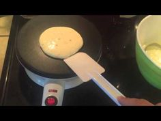 It was so easy to make pancakes using the Velata crepe maker! Crepe Maker, Crepes, Pancakes, Cooking Recipes, Easy, Food, Youtube, Products, Eten