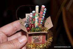 Tiny Ter Miniatures: Preparación para el montaje de árbol de Navidad