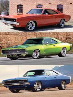Dodge Chargers..