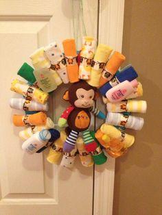 Baby Shower Wreath