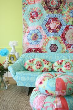 I never get tired of Amy Butler fabrics