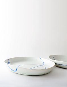 porcelain dishes. studio joo.