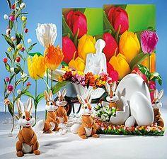Idée déco Pâques/tulipes