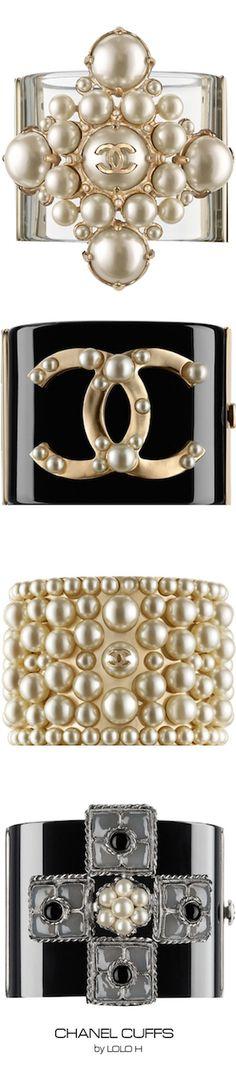 Chanel Cuffs ~ Colette Le Mason @}-,-;---
